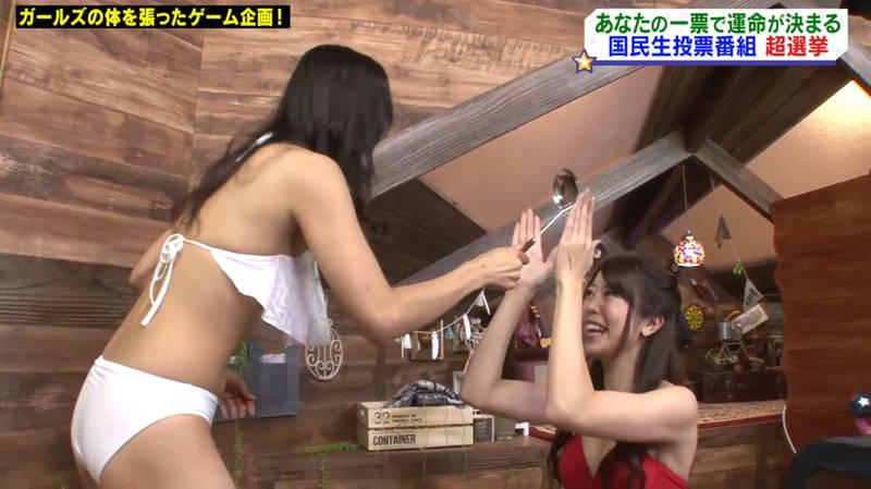 【マンスジキャプ画像】高嶋莉子と薄井美樹が二人ともマンスジ晒した神回があると聞いてwww 23