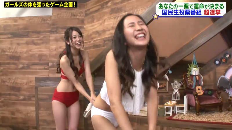 【マンスジキャプ画像】高嶋莉子と薄井美樹が二人ともマンスジ晒した神回があると聞いてwww 40