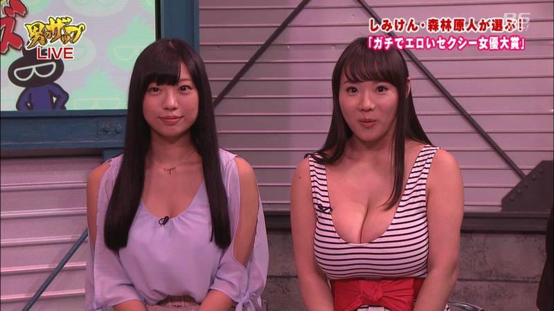 【森林原人キャプ画像】AV女優が着替えたりキスしたりする番組で一番気になったのは森林原人www 05