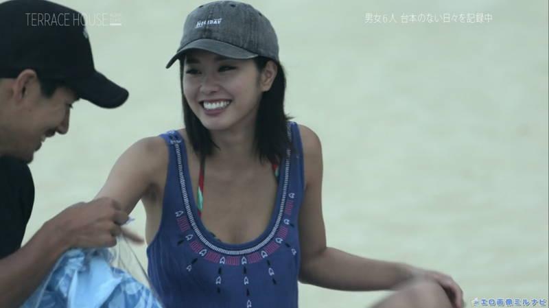 【福山智可子キャプ画像】美尻なことに定評のある出演者が定期的にケツを出す番組www