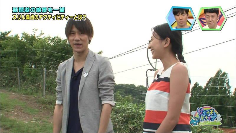 【浅田舞キャプ画像】巨乳が目立ちすぎるウェットスーツでおっぱいアピールがすぎる浅田舞www 04