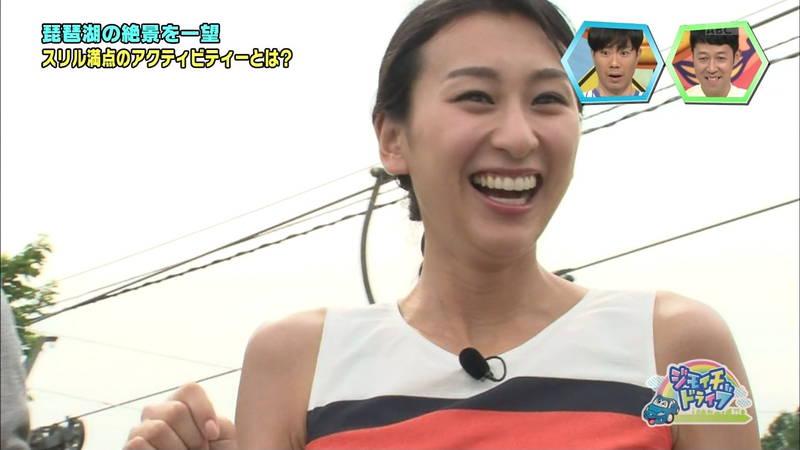 【浅田舞キャプ画像】巨乳が目立ちすぎるウェットスーツでおっぱいアピールがすぎる浅田舞www 07