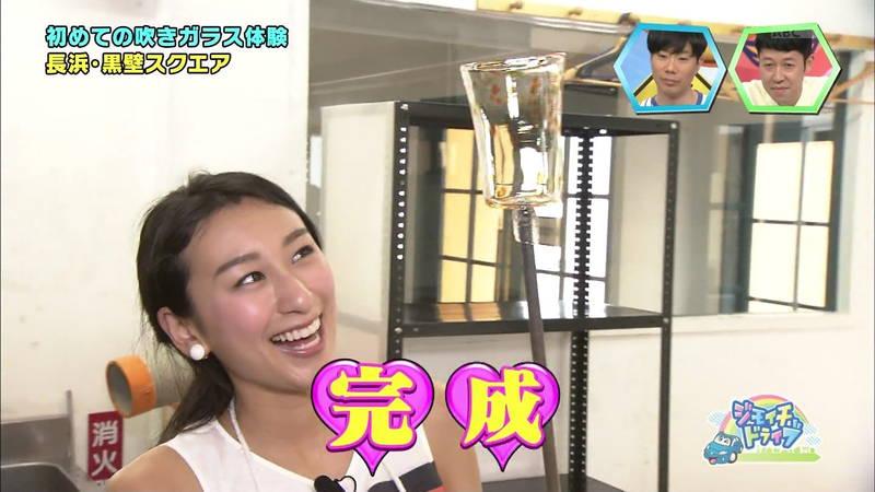 【浅田舞キャプ画像】巨乳が目立ちすぎるウェットスーツでおっぱいアピールがすぎる浅田舞www 29