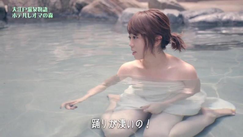 【温泉キャプ画像】おマンコのギリギリショットまで映っちゃう温泉レポw 06