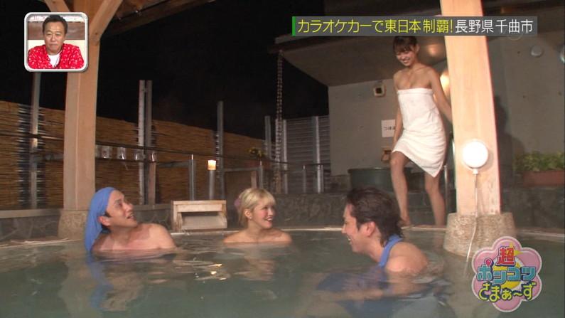 【温泉キャプ画像】おマンコのギリギリショットまで映っちゃう温泉レポw 16