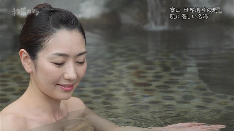 【温泉キャプ画像】おマンコのギリギリショットまで映っちゃう温泉レポw 23