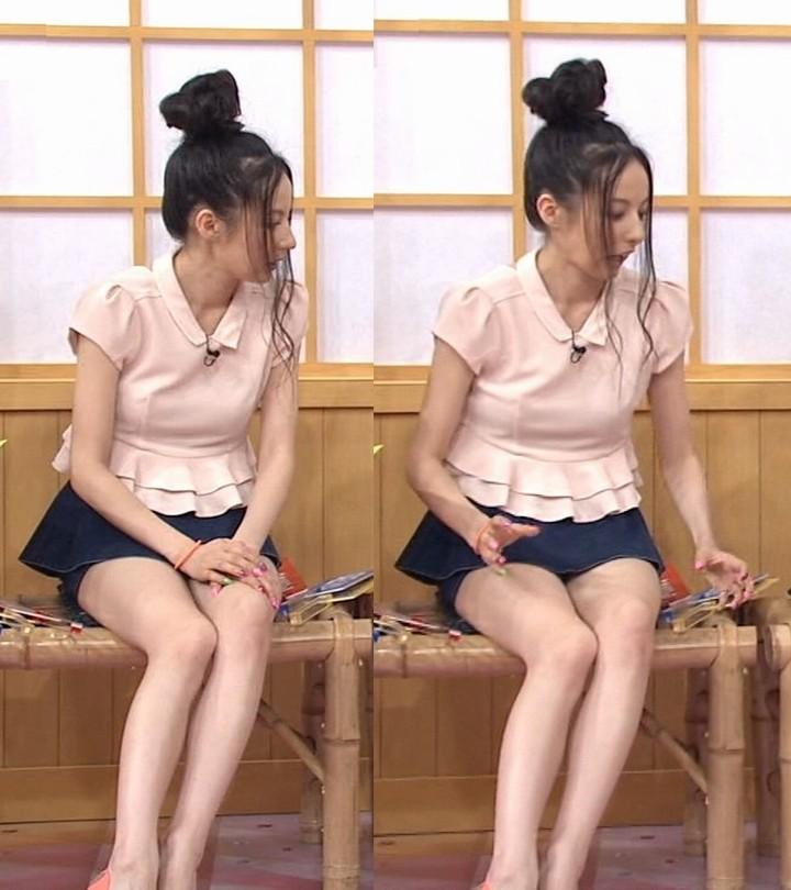 【太ももキャプ画像】モデルやアイドルの美脚に思わずうっとり見とれてしまうww 17