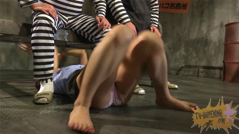 【お宝キャプ画像】ケンコバのバコバコTVでセクスィバトルとか言うコーナでTバックの尻がエロすぎw 47