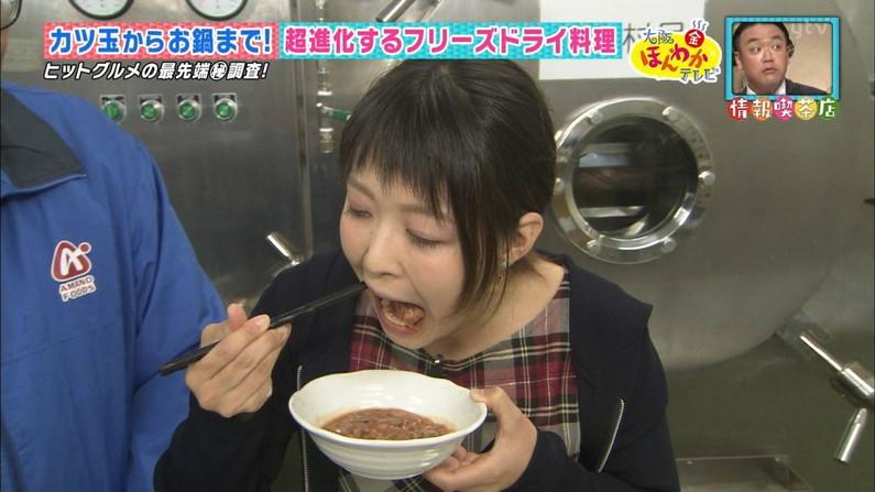 【擬似フェラキャプ画像】まるで男性器を咥えるかのように食レポしちゃうタレント達w 19