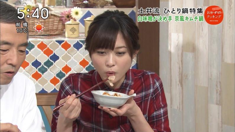 【擬似フェラキャプ画像】可愛い顔したタレント達がそんな卑猥な顔して食レポするんだw 12