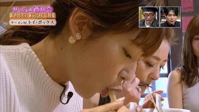 【擬似フェラキャプ画像】可愛い顔したタレント達がそんな卑猥な顔して食レポするんだw 13