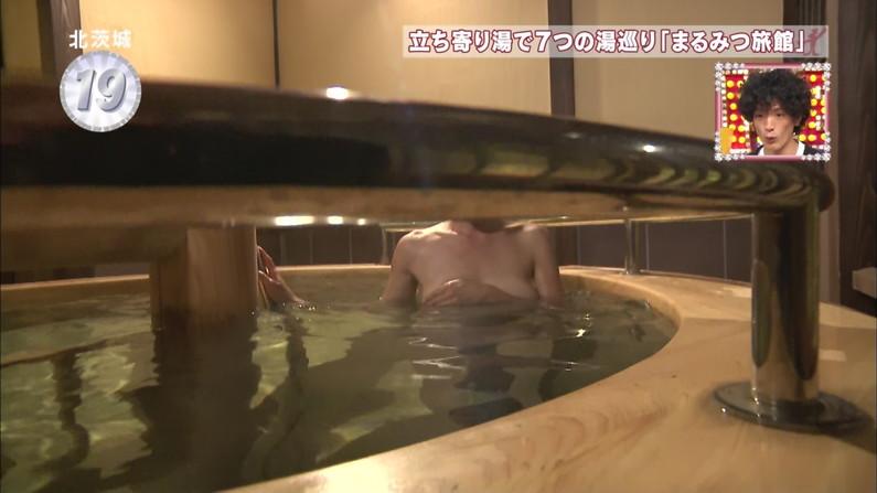 【温泉キャプ画像】美女の入浴姿を拝める温泉レポや温泉番組って絶対エロ目線で見るよなw 03