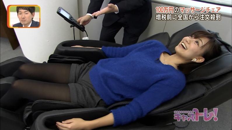【太ももキャプ画像】テレビで大胆に太もも見せつけるタレント達がエロいw 24