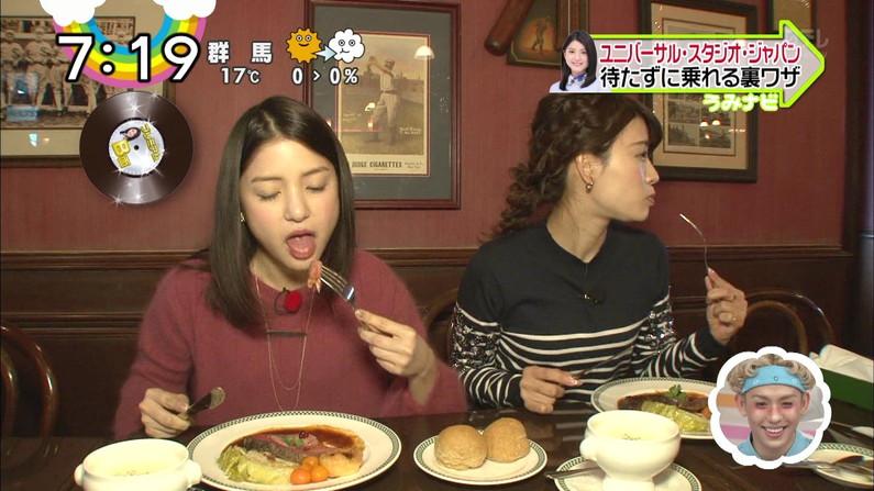 【擬似フェラキャプ画像】食レポで必ずと言ってもいいほどエロい顔になっちゃう女子アナ達w 15