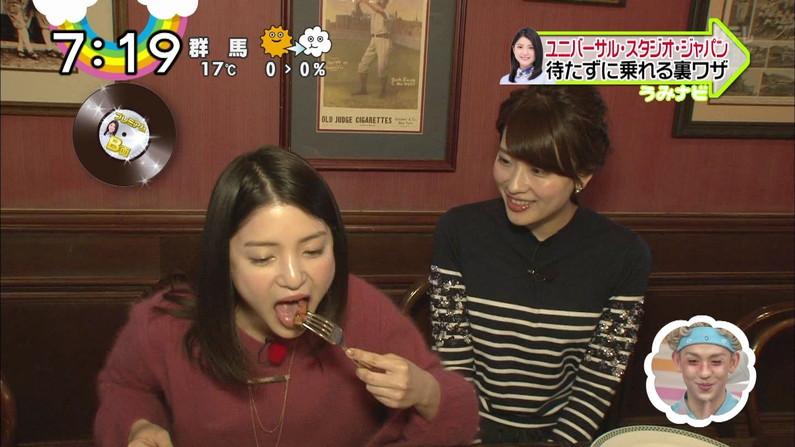 【擬似フェラキャプ画像】食レポで必ずと言ってもいいほどエロい顔になっちゃう女子アナ達w 20
