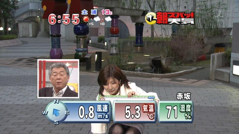 【パンチラキャプ画像】チラどころじゃない!テレビにパンツがモロに映っちゃってるww 15