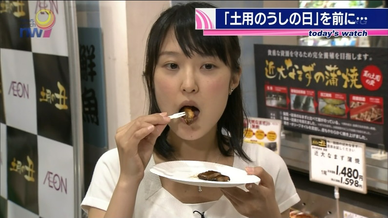 【擬似フェラキャプ画像】本人たちはそんなつもりないかもしれないけど、食レポする時フェラ顔になってますよw 05