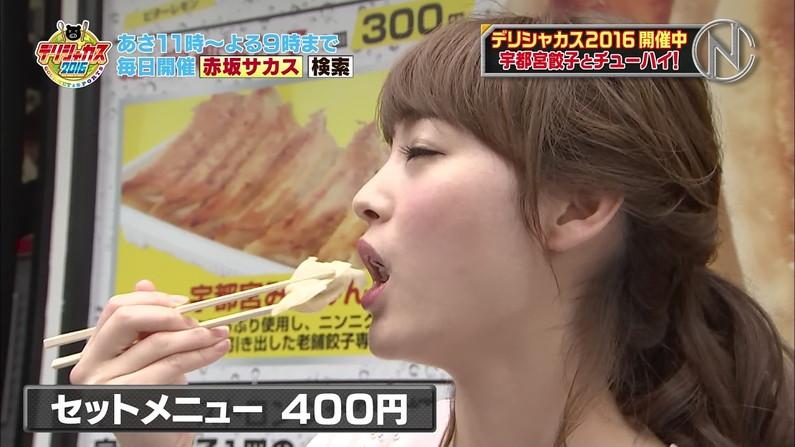 【擬似フェラキャプ画像】本人たちはそんなつもりないかもしれないけど、食レポする時フェラ顔になってますよw 10