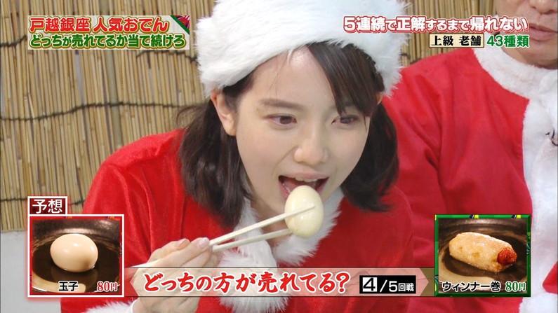 【擬似フェラキャプ画像】食レポしてるタレント達の表情がフェラ顔にしか見えないんだがw 11