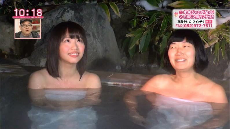 【温泉キャプ画像】この季節こんな巨乳の美人なタレントさんと一緒にお風呂入れたら最高だろうなw 09
