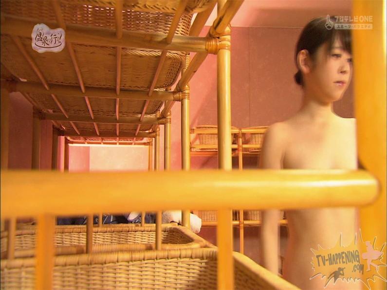 【お宝エロ画像】お尻は見せてくれるがマンコと乳首は絶対見せてくれないもっと温泉に行こうw 72