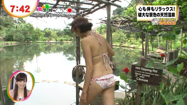 【お尻キャプ画像】テレビに映る美女達のお尻が水着や衣装からはみ出しまくってエロすぎw 22