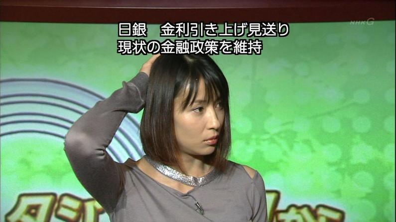 【脇汗キャプ画像】女性タレントがパンチラより嫌がる放送事故がこれだww 16