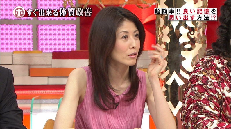 【脇汗キャプ画像】女性タレントがパンチラより嫌がる放送事故がこれだww 18