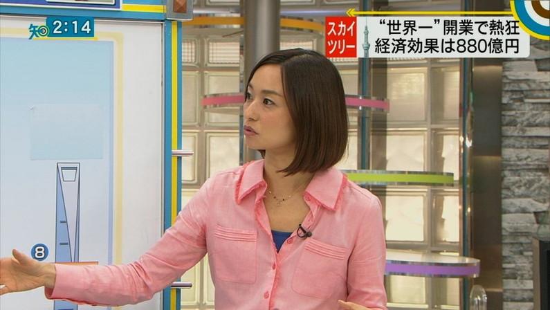 【脇汗キャプ画像】女性タレントがパンチラより嫌がる放送事故がこれだww 22