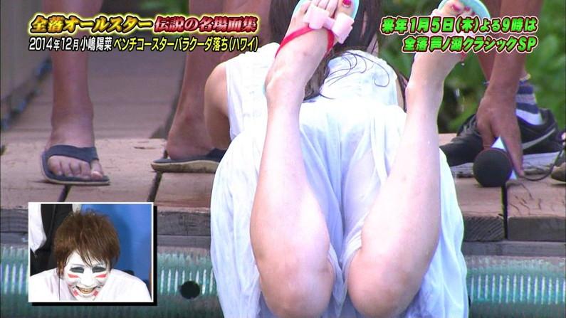 【胸ちらキャプ画像】テレビに映る胸ちらってやっぱちょっと違って興奮するよなw 24