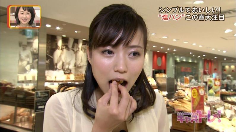 【擬似フェラキャプ画像】タレント達がやらしい顔して食べる食レポがフェラ顔にしか見えんw 04
