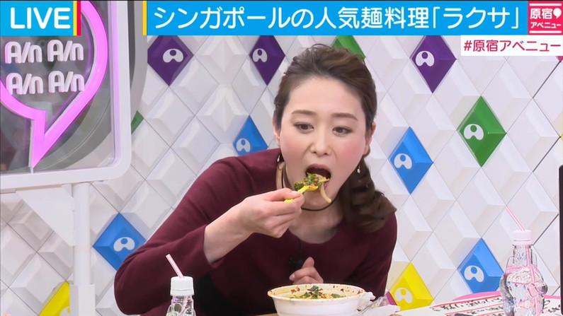 【擬似フェラキャプ画像】タレント達がやらしい顔して食べる食レポがフェラ顔にしか見えんw 09