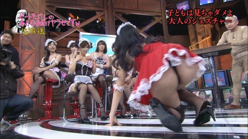 【お尻キャプ画像】水着やらパンツからお尻がハミだしまくってる美女達がテレビに出てるぞww 12