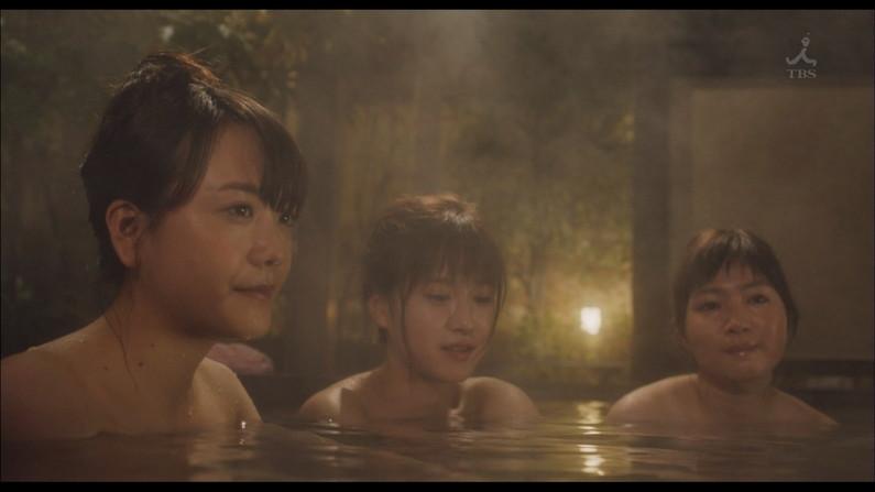 【温泉キャプ画像】タレントさん達がハミ乳し放題の温泉レポートw 06