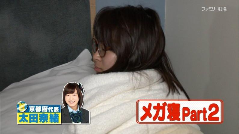 【寝顔キャプ画像】女性タレント達の寝顔大公開!マジで夜這い仕掛けたくなるぞw 18