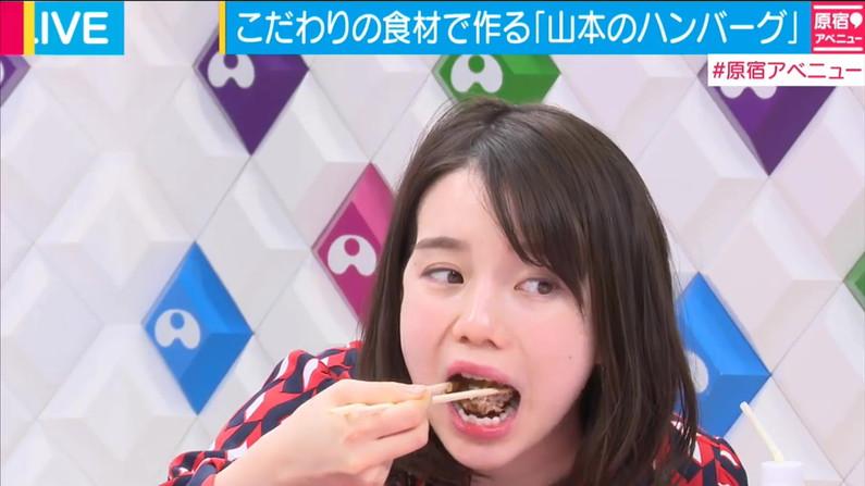 【擬似フェラキャプ画像】食レポの食べ方がどう見てもエロく見えてしまう女子アナ達w 01