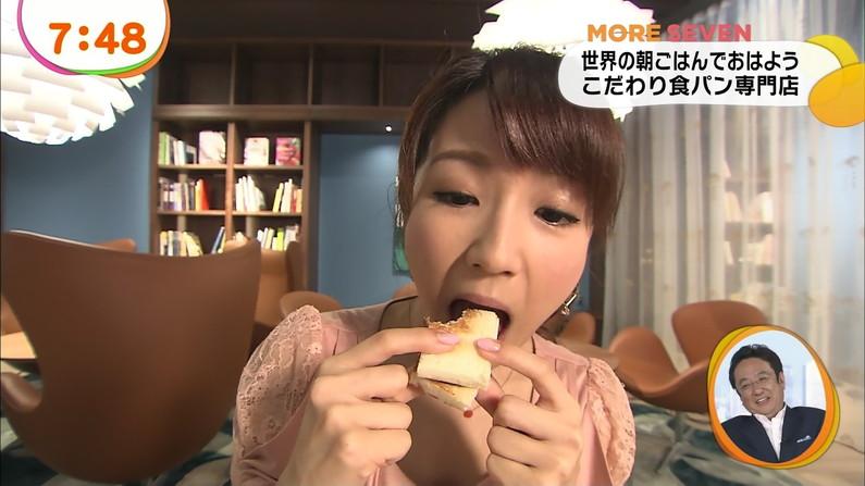 【擬似フェラキャプ画像】食レポの食べ方がどう見てもエロく見えてしまう女子アナ達w 07