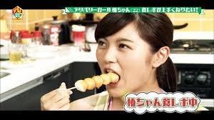 【擬似フェラキャプ画像】食レポの食べ方がどう見てもエロく見えてしまう女子アナ達w 19