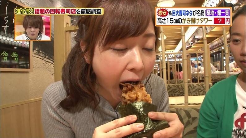 【擬似フェラキャプ画像】食レポの食べ方がどう見てもエロく見えてしまう女子アナ達w 22