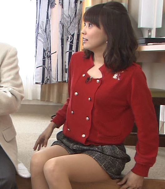 【太ももキャプ画像】女子アナやアイドルの太ももってなんでこんなにエロく見えるんだろうな?w 22