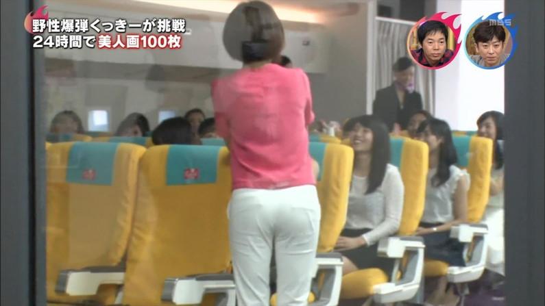 【お尻キャプ画像】タレント達のピタパンお尻ってなんか後ろから見てると凄いエロ稲ww 20