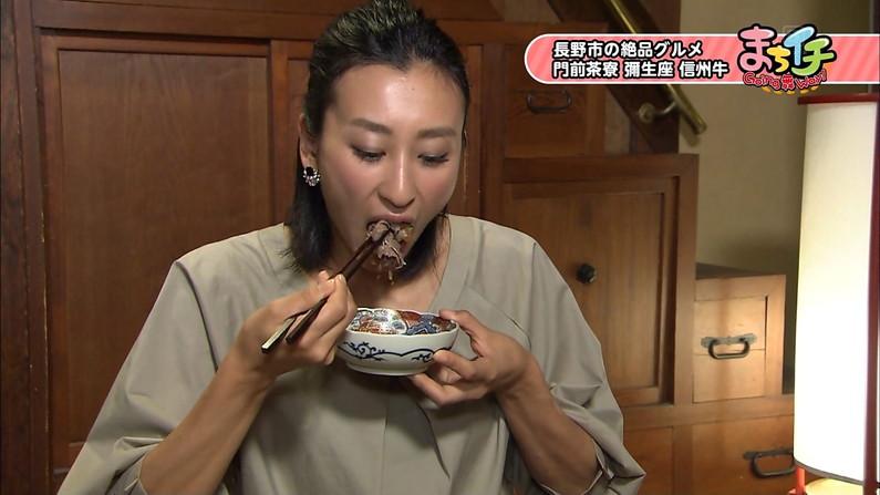 【擬似フェラキャプ画像】食レポしてる時の表情がエロい顔にしか見えないタレント達w 08