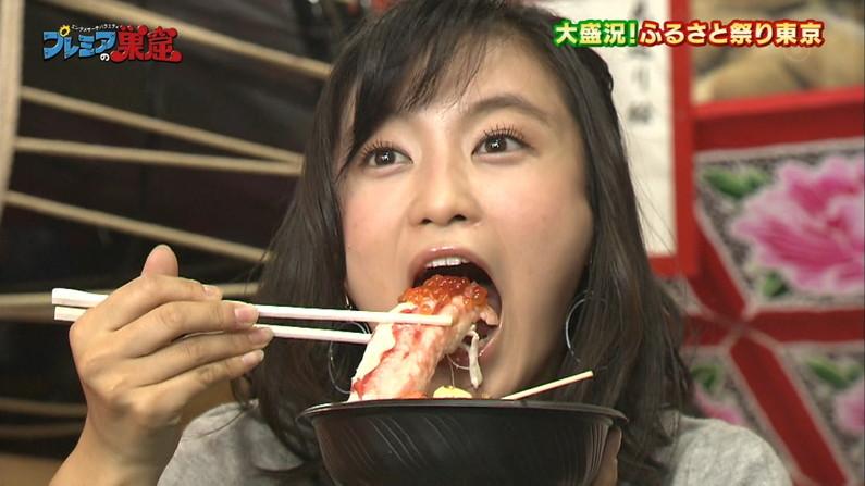 【擬似フェラキャプ画像】食レポしてる時の表情がエロい顔にしか見えないタレント達w 12