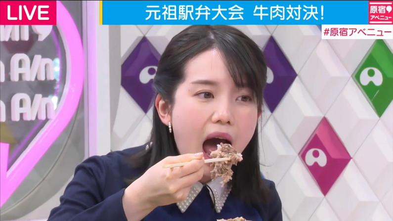 【擬似フェラキャプ画像】食レポしてる時の表情がエロい顔にしか見えないタレント達w 15