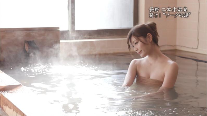 【温泉キャプ画像】テレビでやる温泉番組のタレント達の入浴シーンってやっぱエロいよなw 12