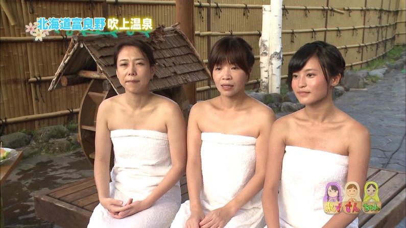 【温泉キャプ画像】テレビでやる温泉番組のタレント達の入浴シーンってやっぱエロいよなw 15