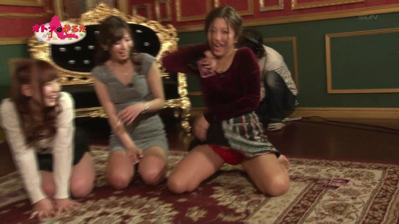【お宝エロ画像】ケンコバのバコバコTVでまたルイちゃんがおマンコ見せハプニングww 39