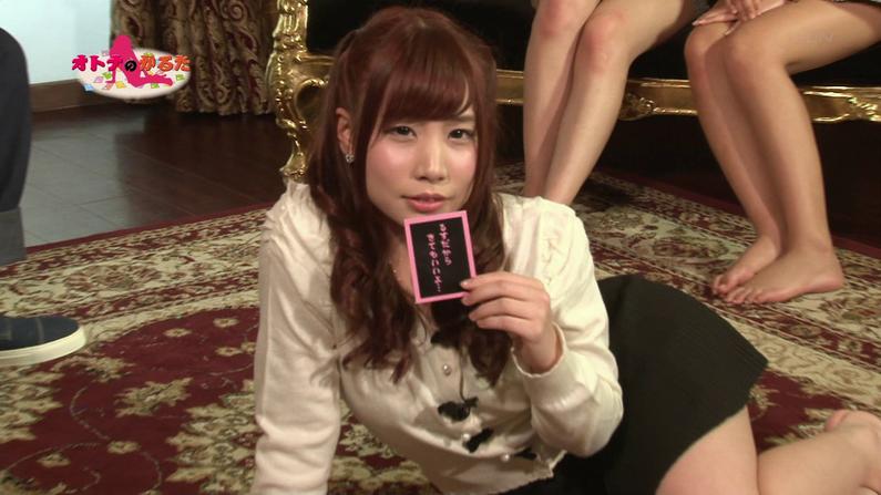 【お宝エロ画像】ケンコバのバコバコTVでまたルイちゃんがおマンコ見せハプニングww 49