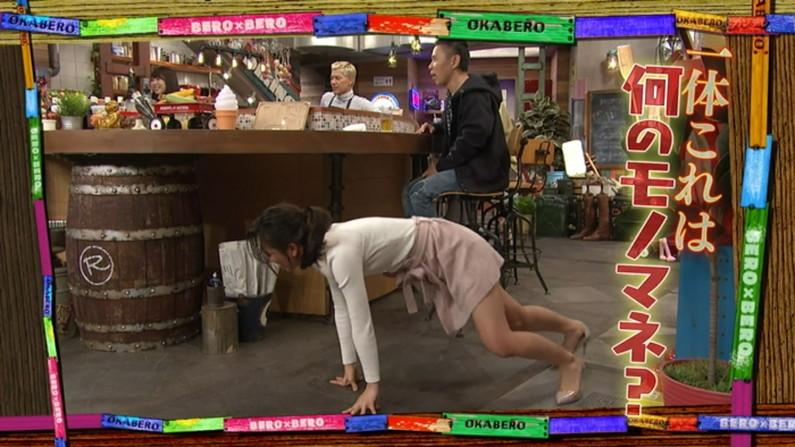 【太ももキャプ画像】タレントさん達の綺麗な脚で一度虐められてみたくはありませんか?w 08