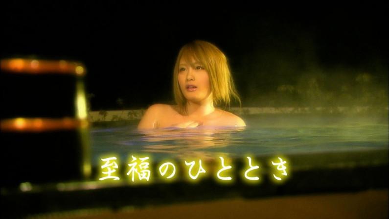 【温泉キャプ画像】建前は温泉レポとか言うが事実上女性タレントの入浴姿を拝めるエロ企画w 12